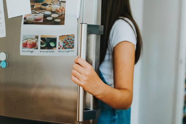 Remplir son frigo quand on veut manger sain